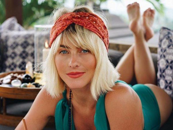 Blonde Julianne Hough
