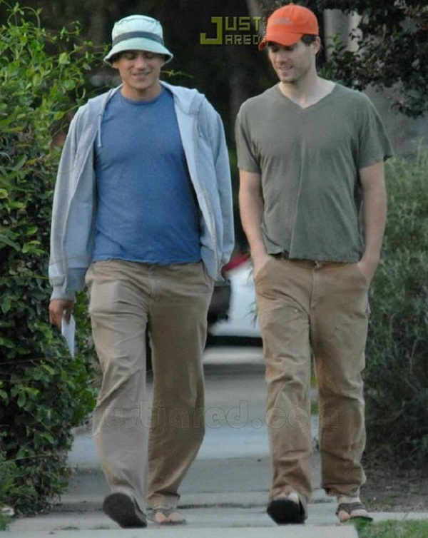 Source: justjared.com (Luke Macfarlane and Wentworth Miller)