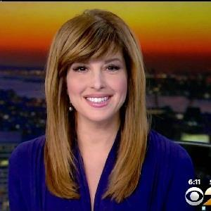 Mary Calvi, news reporter in WCBS