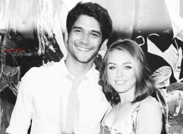 Miley Cyrus and Tyler Posey