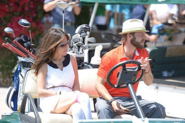 Vanessa Marcil with second husband Carmine Giovinazzo
