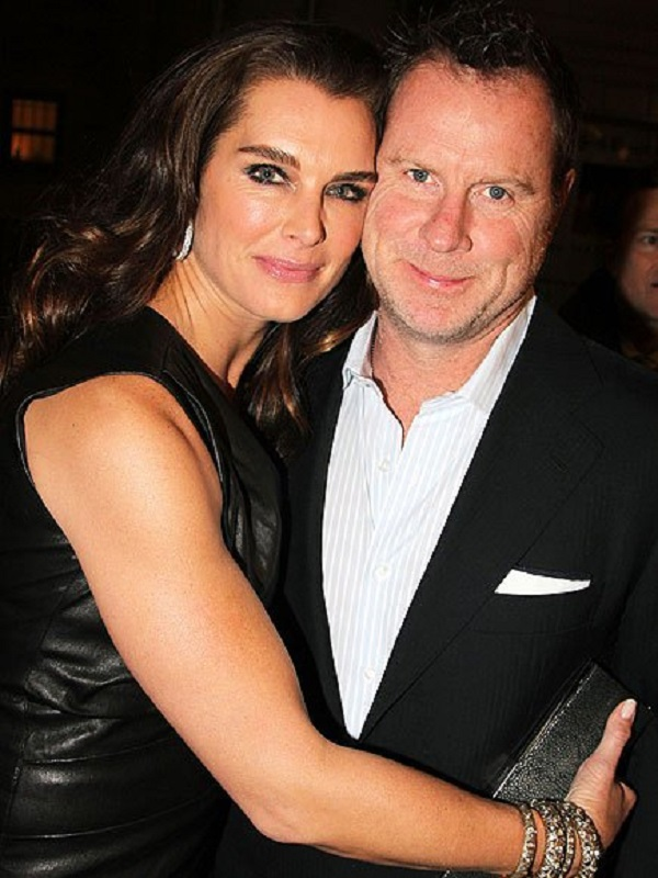 Source: Bruceglikas/Filmmagic (Brooke Shields and Chris Henchy)