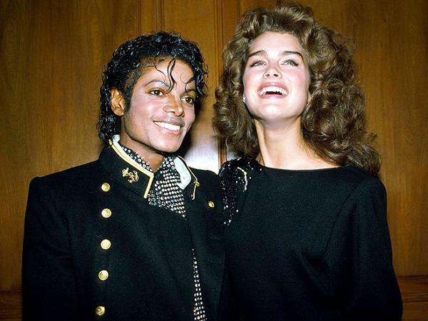 Source: Getty images (Michael Jackson and Brooke Shields)