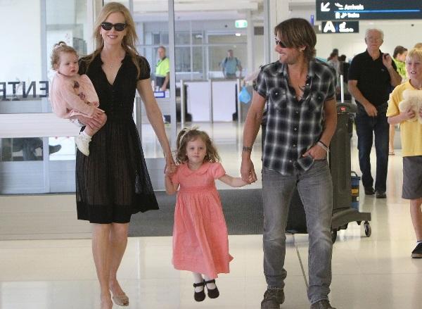 Nicole Kidman And Keit...