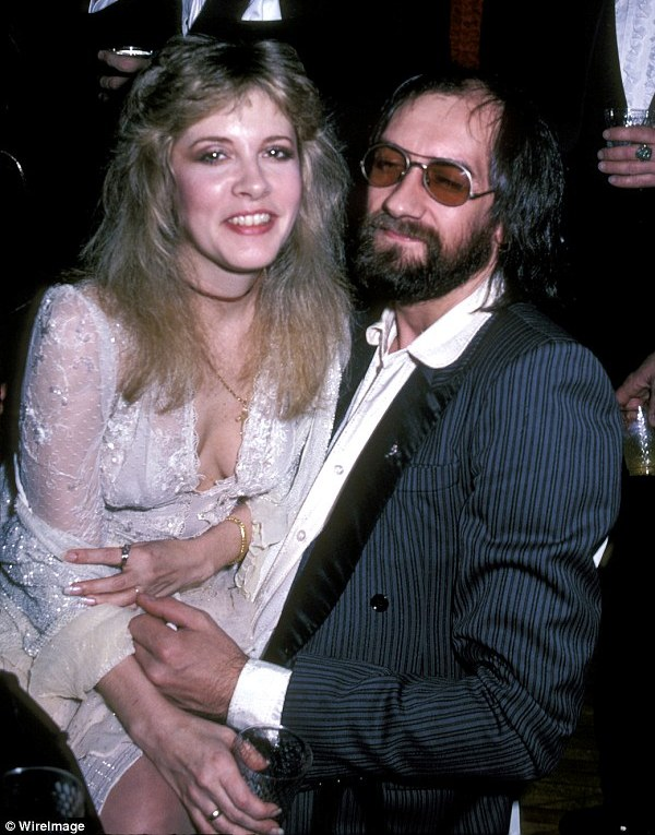Source: Daily Mail (Stevie Nicks and Mick Fleetwood)