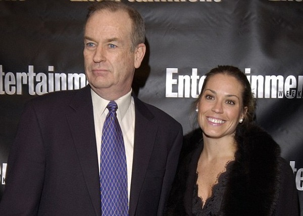Maureen McPhilmy with ex-husband Bill O'Reilly