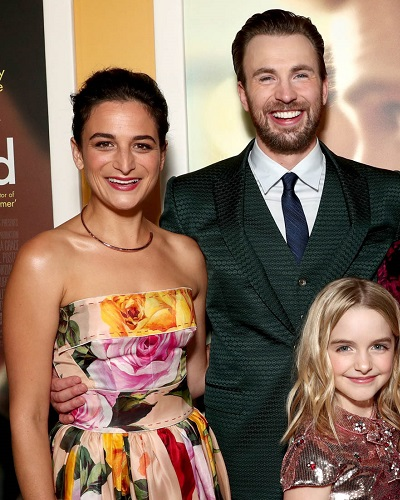 Chris Evans and Jenny Slate still friends after the ...