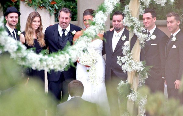 Source: E!Online (Chris Kirkpatrick Wedding)