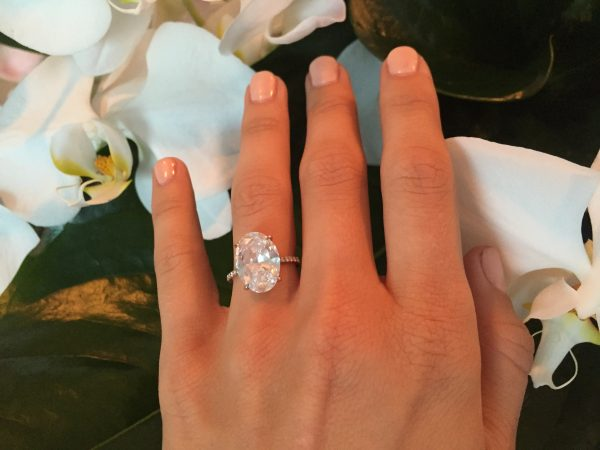 Source: Instagram (Julianne Hough shared engagement ring picture)