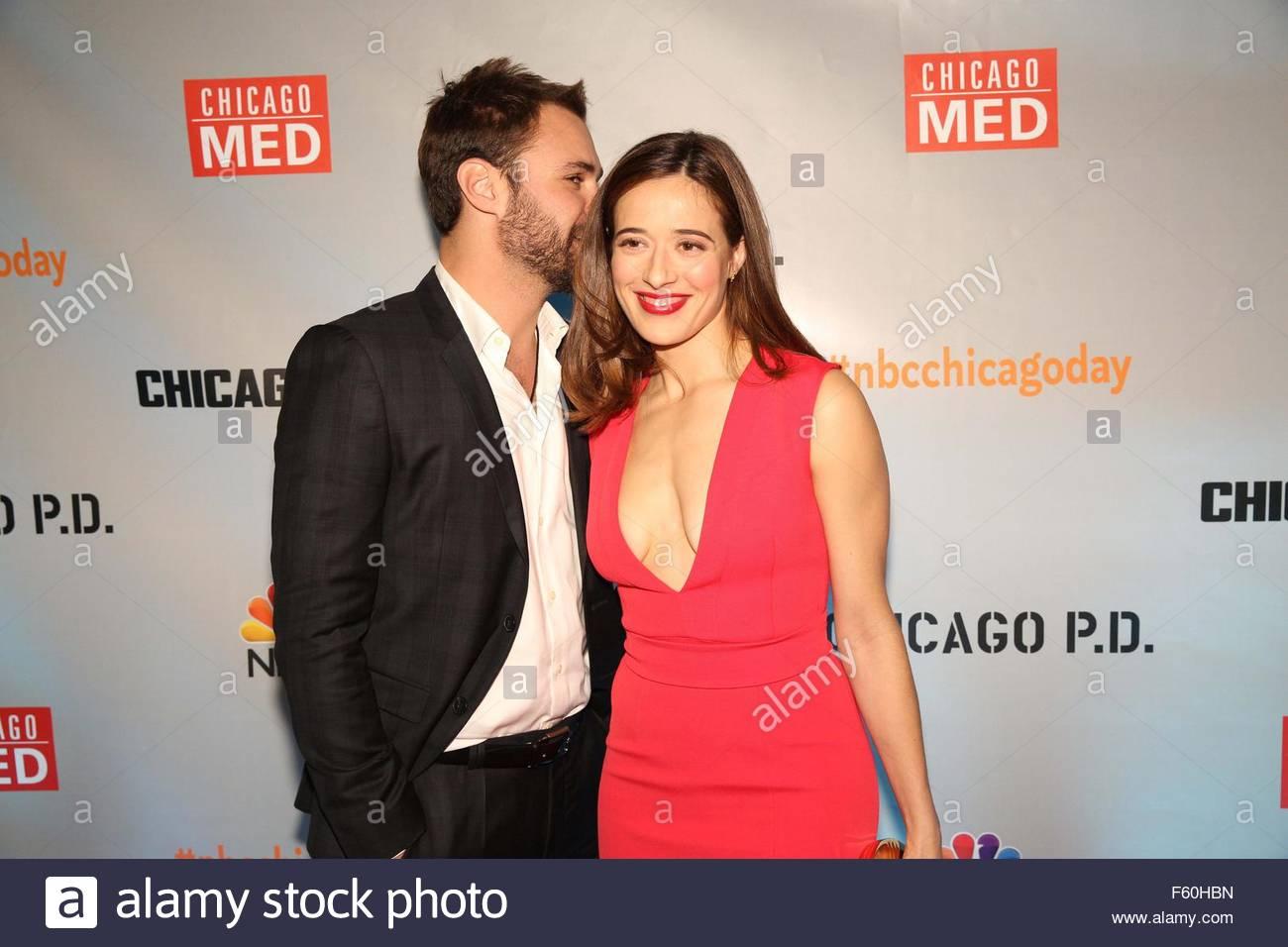 Actress Marina Squerciati and boyfriend Patrick John ...