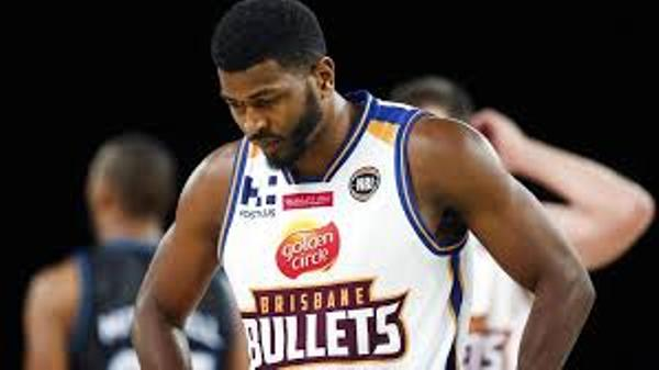 Source: Courier Mail (Jermaine Beal with Brisbane Bullets and after his loss)