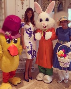Melania Trump hosts White House Easter Egg Roll, attended by many celebrity guests as well!
