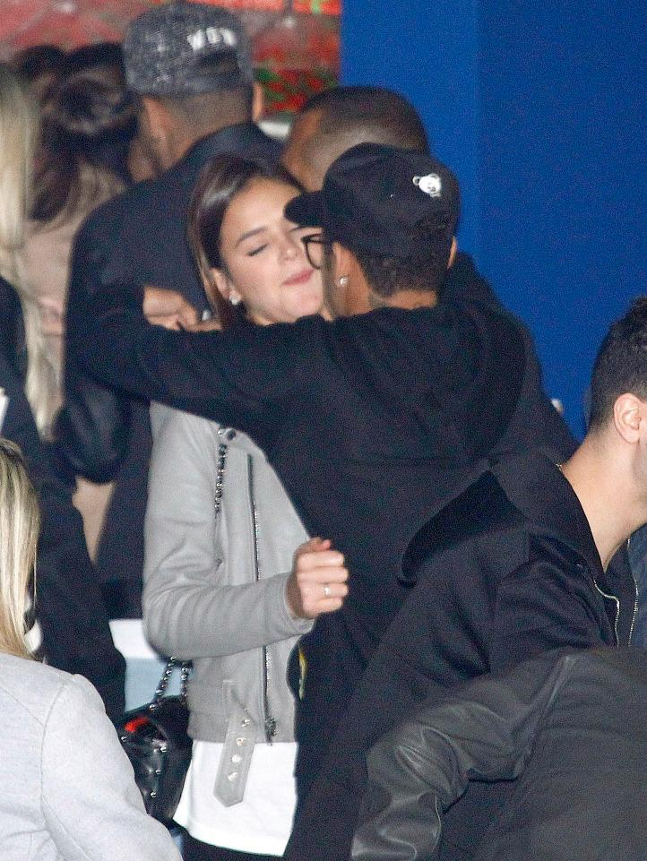 Brazilian couple; Neymar Jr. and Bruna Marquezine got back together in 2014
