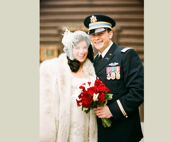 Pete Hegseth with his wife Samantha Hegseth