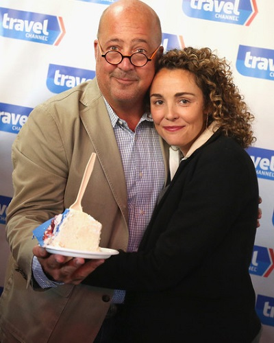American Chef Andrew Zimmern And Her Wife Rishia Haas Have