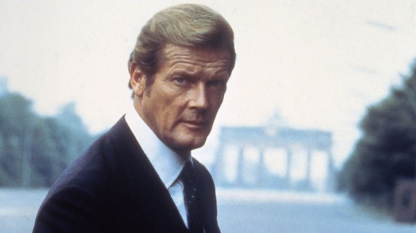 English actor Sir Roger Moore