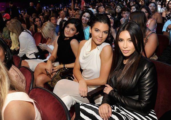 Kylie and Kendall Jenner with big sister Kim Kardashian
