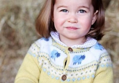 Princess Charlotte: New picture Released in honor of her big day by Duke and Duchess of Cambridge!!