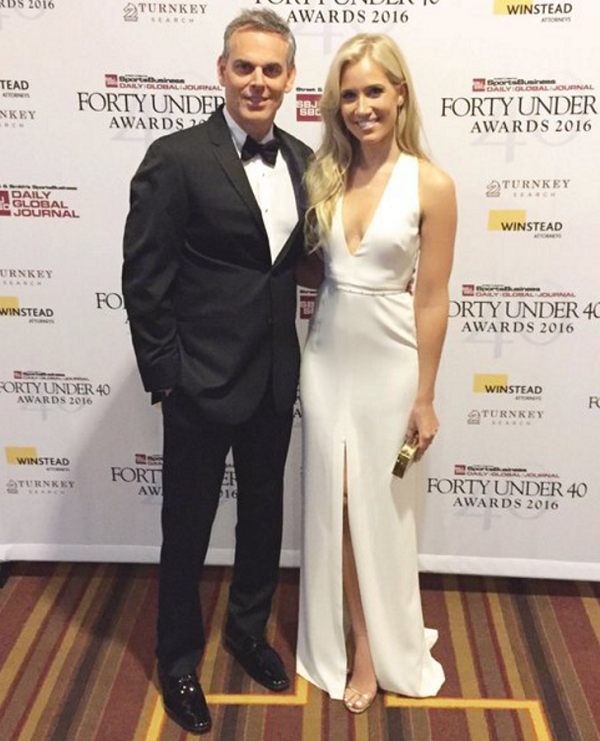 beautiful sportscaster kristine leahy is dating her