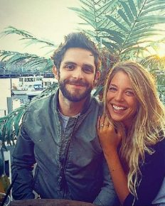 This couple Thomas Rhett and his Wife Lauren turned the parent of a baby girl; Adopt a baby girl and shares the photo in an Instagram