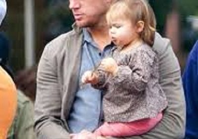 Channing Tatum took his three year old child to see his live show