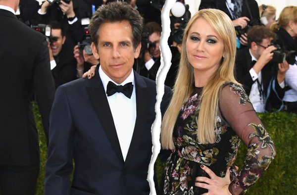 how did ben stiller and wife meet