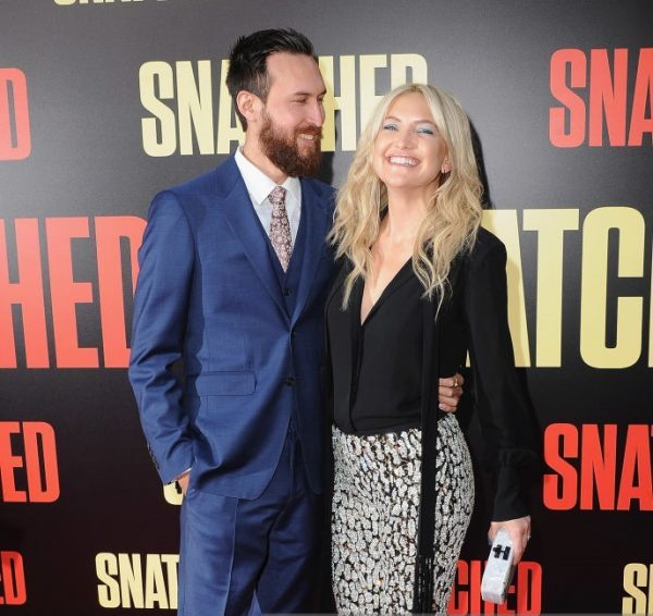 Kate Hudson and Danny Fujikawa at the L.A. premiere of Snatched