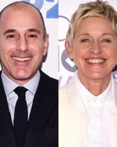 Ellen Degeneres reignites her prank war with Matt Lauer! Ellen DeGeneres Scares Matt Lauer in Epic Prank War- 'it's the Favourite one so far'