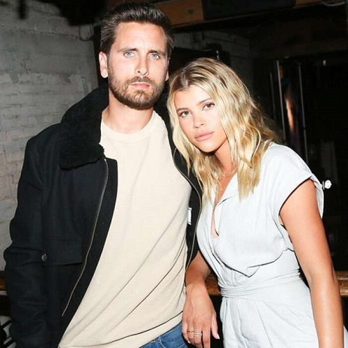 scott disick and his partner sofia