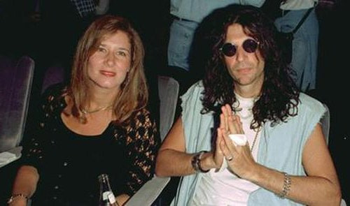 Alison Berns and ex-husband Howard Stern