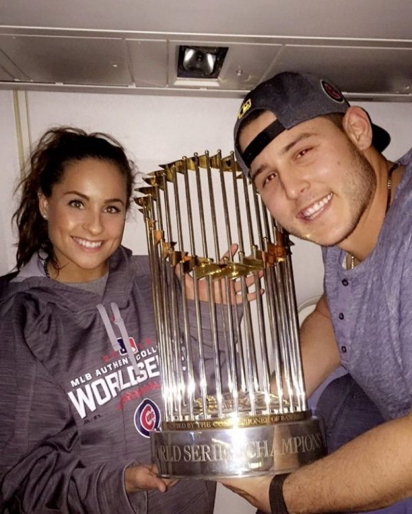 Anthony Rizzo Engagement Ring