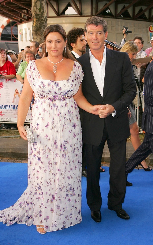 Pierce Brosnan and Wife Keely Shaye Smith Enjoying ...