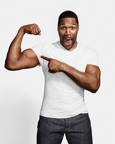 Media Personality Michael Strahan! Let's Take Te Small