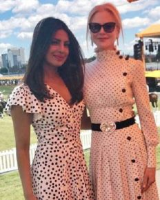 Outfit twinning! Nicole Kidman and Priyanka Chopra Appeared on a Matching Outfits on the 10th Annual Veuve Clicquot Polo Classic