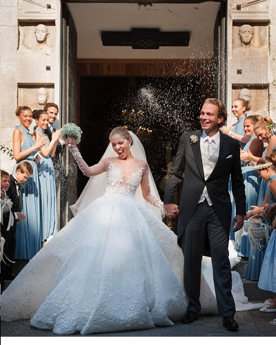 Singer Victoria Swarovski Marries In Italy, Wears A £