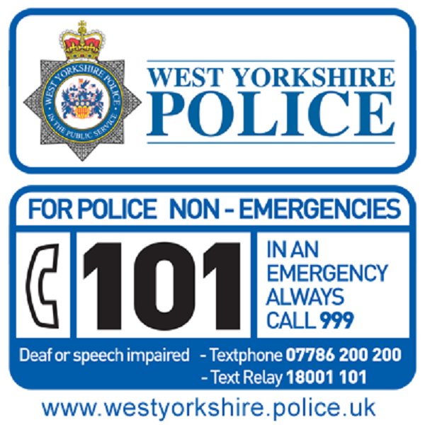 Source: WYP Contact Centre (West Yorkshire Police Customer Contact Centre)