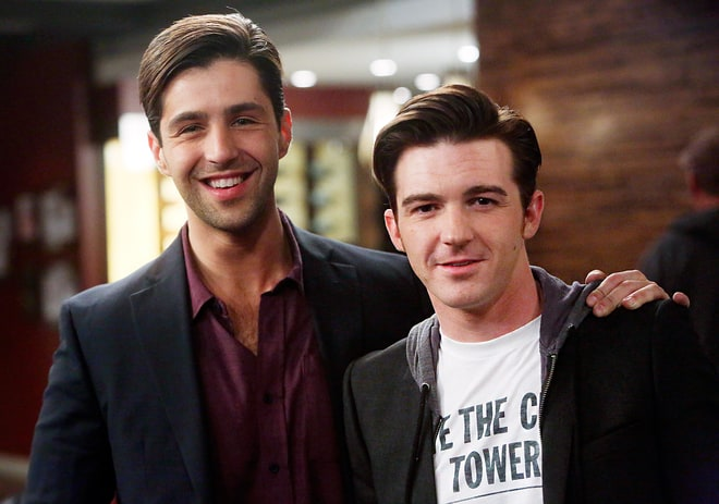 Giving us hope for a Drake & Josh reboot! Bell made a cameo on Peck's short-lived comedy Grandfathered. Credit: Jordin Althaus/ABC Studios via Getty Images