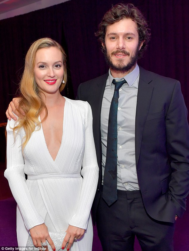 Leighton Meester and Adam Brody. (Photo: Stefanie Keenan/Getty Images for InStyle)