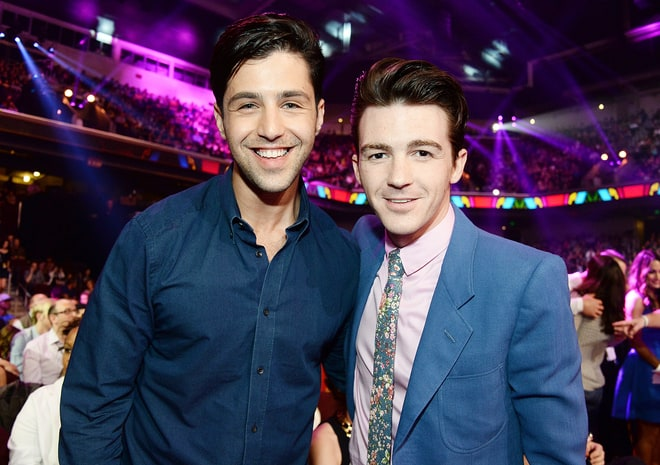 Drake Bell and Josh Peck.