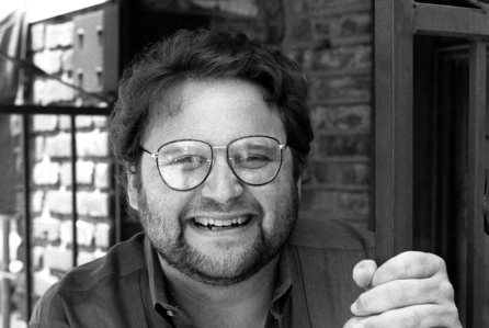 Actor Stephen Furst is photographed in Los Angeles, Ca. in May 1986. (AP Photo/Red McLendon)