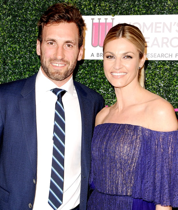 Jarret Stoll and Erin Andrews attend An Unforgettable Evening at the Beverly Wilshire Four Seasons Hotel on February 16, 2017 in Beverly Hills, California. Jason LaVeris/FilmMagic