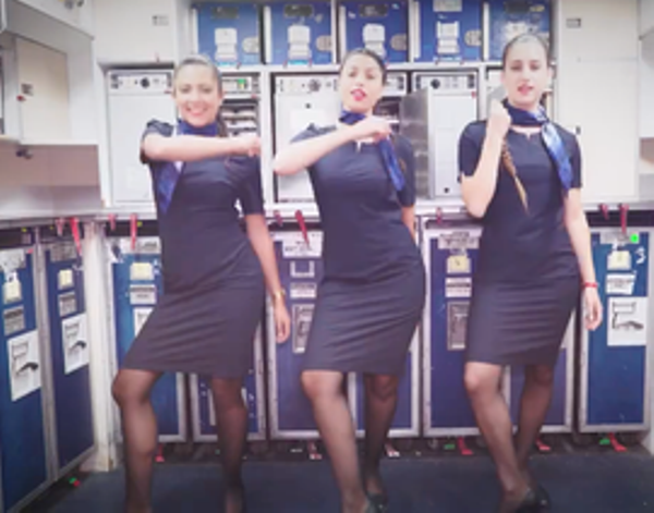 Source: From the Grapevine (El Al flight attendants honor Britney Spears with their music cover)
