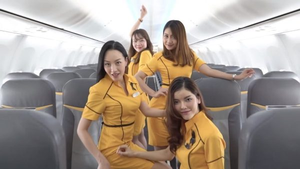 Source: Khaosod English (Nok Air crew performing in the cover of 'Toxic')