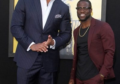 Kevin Hart is Ready to go against Dwayne 'The Rock' Johnson for Presidential Run in 2020 -'Just Out of Spite'