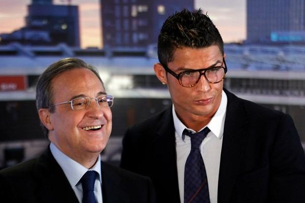 Source: Ebene Sport (Perez with Ronaldo)