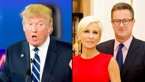 Source: US Weekly (Trump and Mika and Joe)