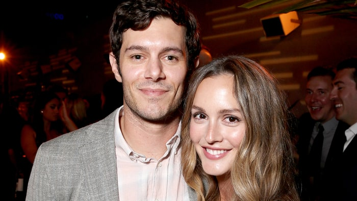 """Adam Brody and Leighton Meester attend the after party for the premiere pf Crackle's """"Startup"""" on August 23, 2016 in Los Angeles, California. Todd Williamson/Getty Images"""
