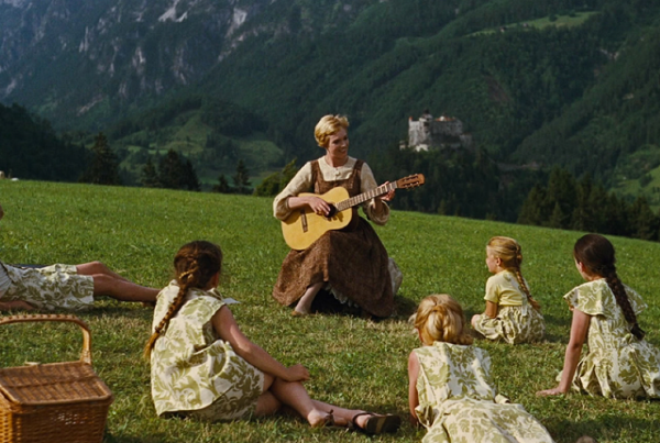 Source: Mentalfloss (Still from the Sound of ,Music movie)