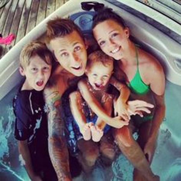 Roman, Brittney, Noah, and Kane
