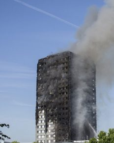 Man On Ground Catches a Baby Dropped From the Tenth Floor of the Blazing Grenfell Tower in London, Manages to Save the Baby